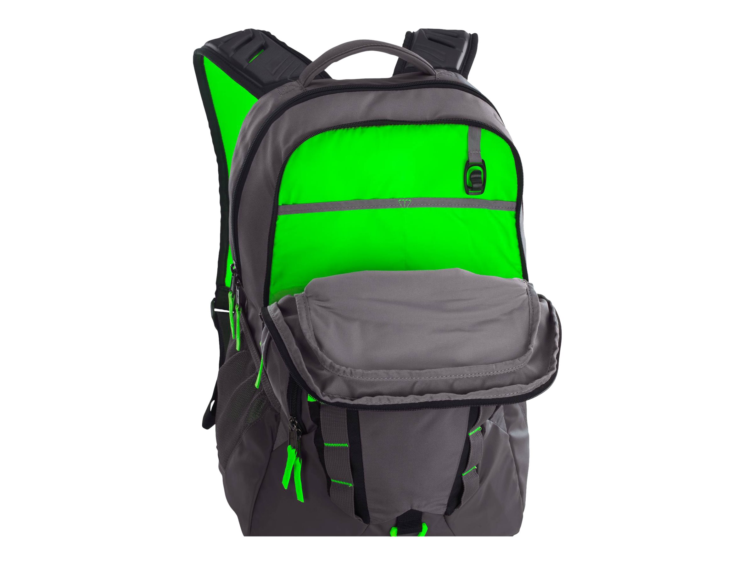 32364671f1 Under Armour - Storm Recruit Backpack Black  Steel - Walmart.com