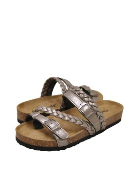 be23631a7177 Product Image Outwoods Bork-65 Women's Vegan Strappy Buckle Sandals 21390