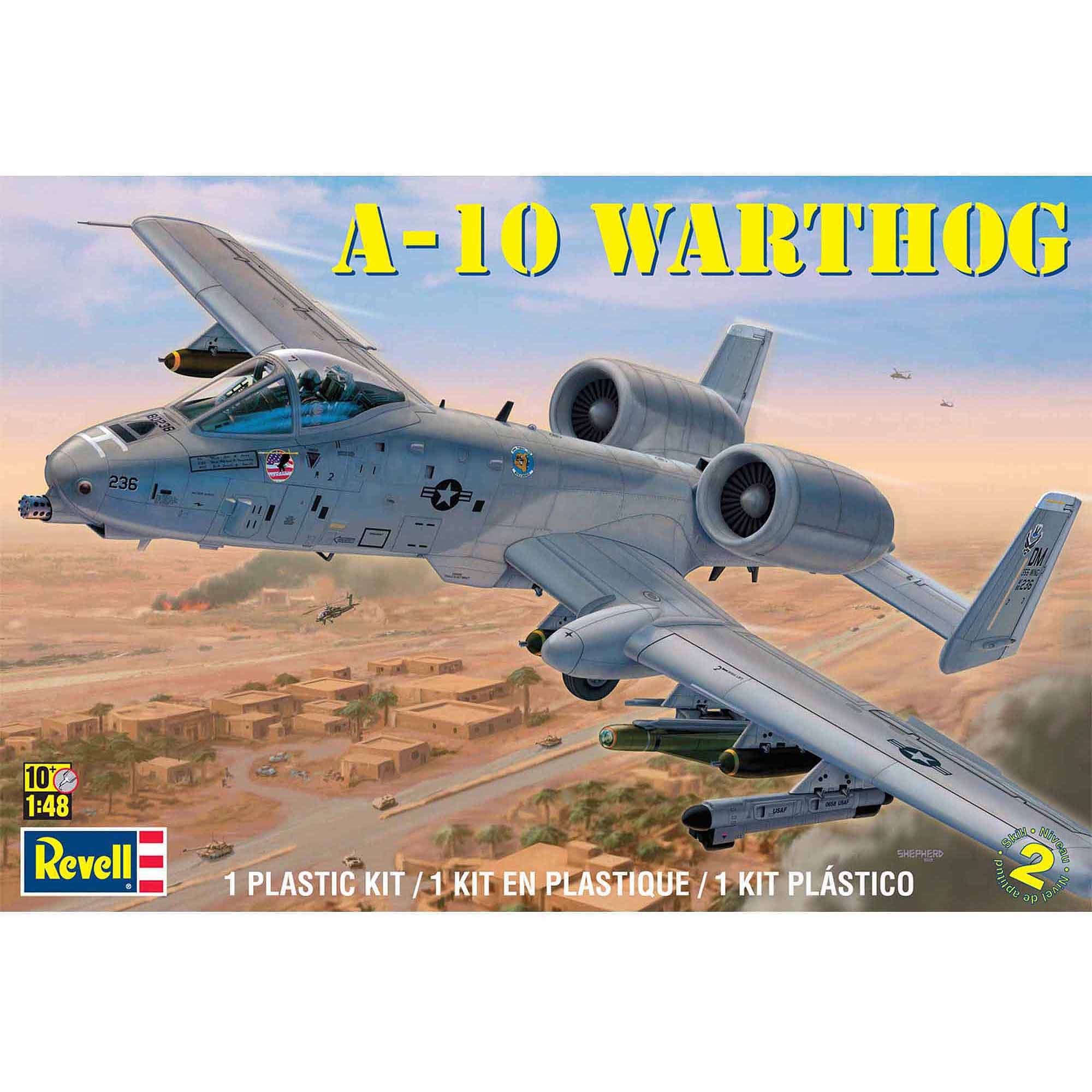 Revell 1:48 Scale A10 Warthog Model Kit