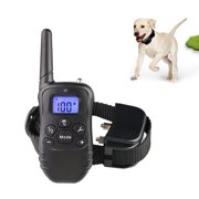 Dog Training Collar with Remote 330 yd Shock Collars Rechargeable and Rainproof Bark Collar with Beep/Vibration/Shock Electronic