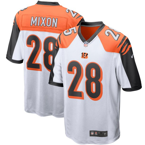 bengals white out jersey
