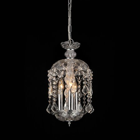 Warehouse of Tiffany Karla 3 Light Crystal Chandelier ()
