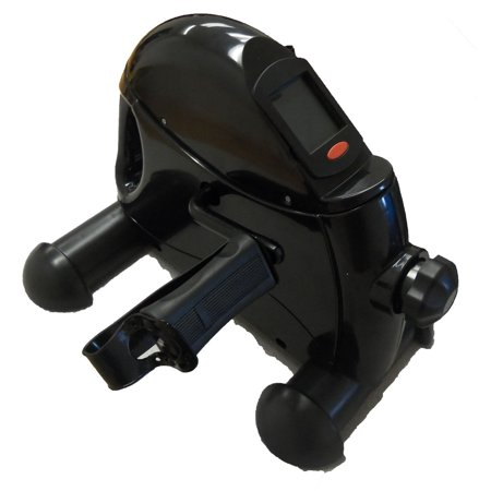 GHP Adjustable Heavy Duty Steel Frame Portable Leg Trainer Deluxe Pedal Exerciser