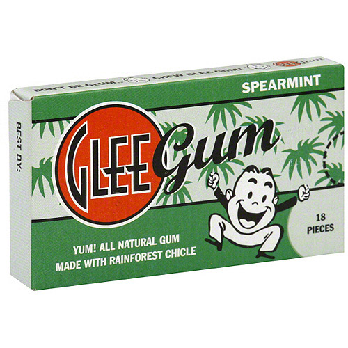 Glee Gum Spearmint Gum, 18ct (Pack of 12)