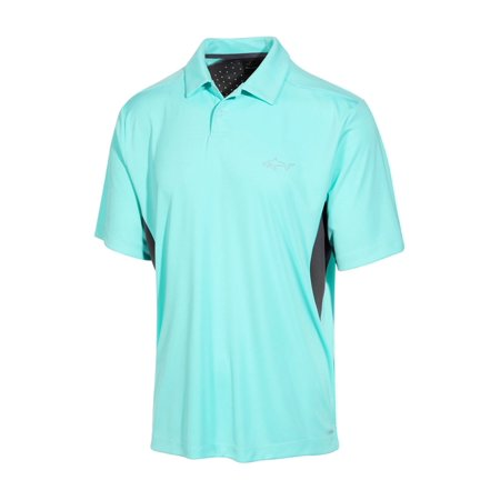 Greg Norman Mens Rapichill Performance Rugby Polo Shirt