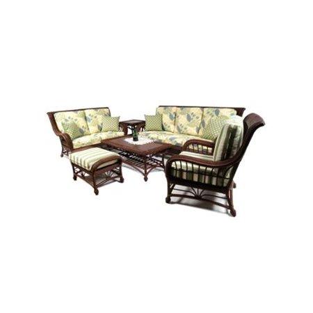 Optimal Boca Rattan Palm Spring Rattan Sofa Set Recommended Item