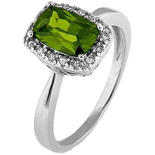 Doma Jewellery SSRZ394OV8 Sterling Silver Ring With Cubic Zirconia, Size 8