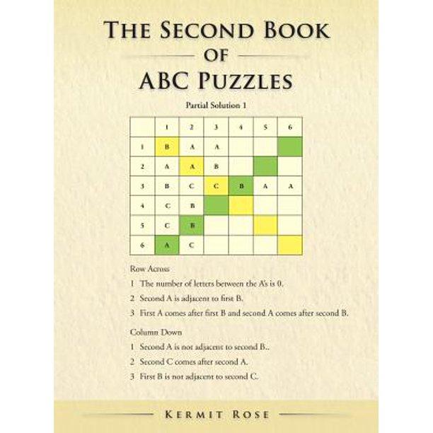 The Second Book Of Abc Puzzles Ebook Walmart Com Walmart Com