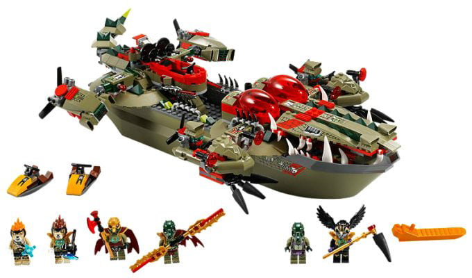 Lego Legends of CHIMA Cragger's Command Ship w  Minifigures | 70006 by Lego