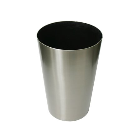 Algreen Stainless Steel Planter Taper Round 15 75 In Diameter By 23 5 Height