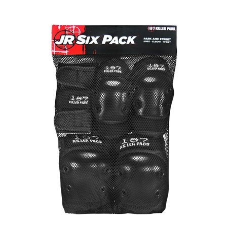 187 Killer Pads Jr Six Pack -