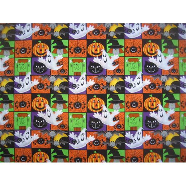 Dog Collar Bandanas K06L Halloween Frankenstein-Ghosts-Ca...