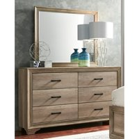 Liberty Furniture Industries Sun Valley 6 Drawer Dresser with Optional Mirror