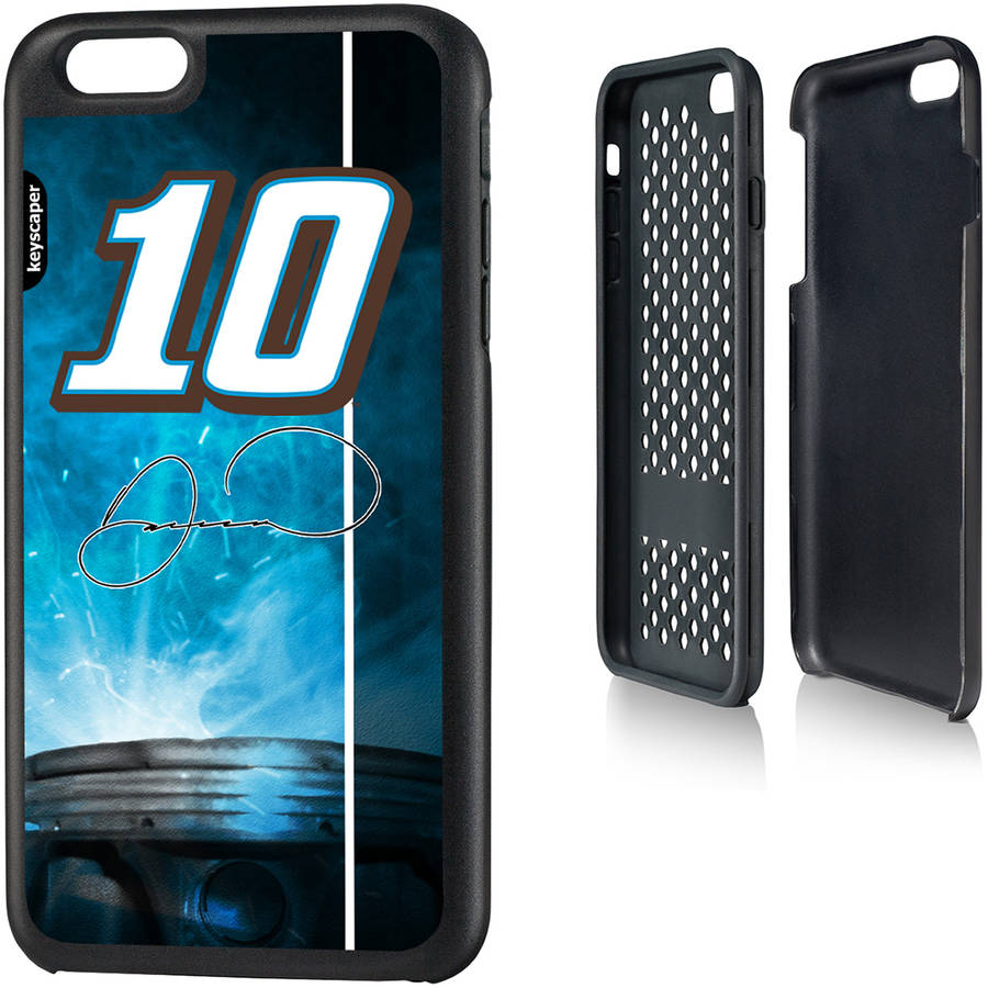 Danica Patrick 10 Rugged Number Design Apple iPhone 6 Plus Rugged Case by Keyscaper