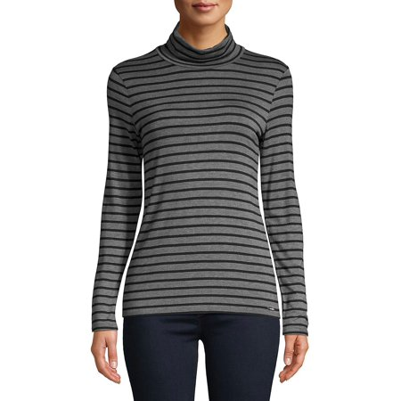 Striped Long-Sleeve Top