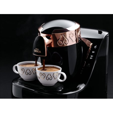 OKKA Turkish Greek Coffee Machine, 110 Volt (USA & (Best Coffee Maker Canada)