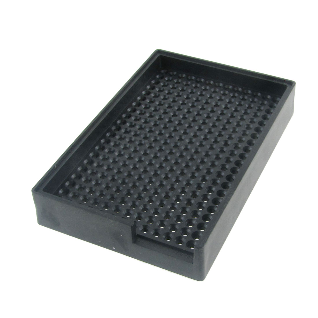 Uxcell 2.0mm-2.5mm Screw Antistatic Hard Plastic Tray Holder Black (1-pack)