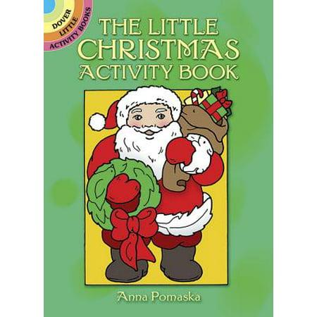The Little Christmas Activity Book - Christmas Activities For Preschoolers
