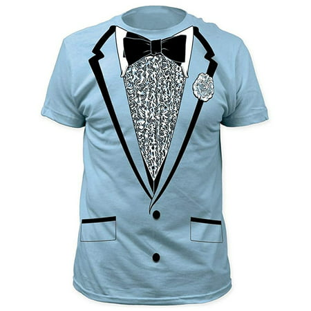 Dumb and Dumber Harry Blue Tuxedo T-Shirt - Harry Dunne Dumb And Dumber