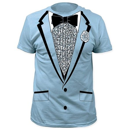 Dumb and Dumber Harry Blue Tuxedo T-Shirt - Dumb And Dumber Tuxes