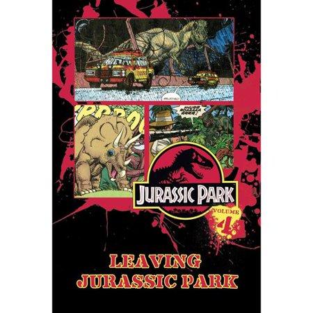 Jurassic Park Vol. 4: Leaving Jurassic Park by