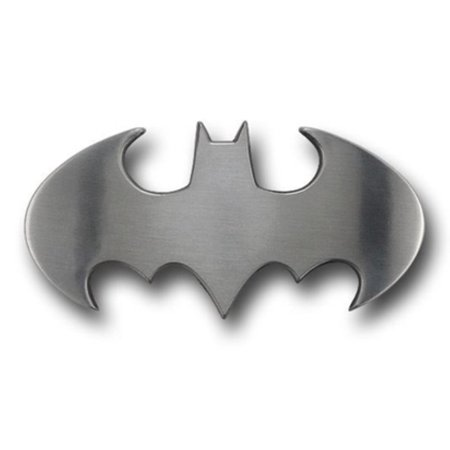 Batman Logo Belt Buckle - Batman DC Comics Dark Knight Officially Licensed Metal ANTIQUED Belt Buckle