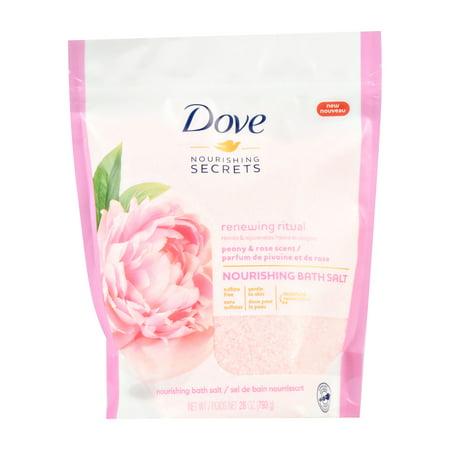 Dove Nourishing Secrets Bath Salts Peony and Rose 28 oz