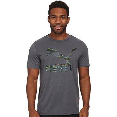 Puma Men's Performance Short Sleeve Graphic Tee Shirt T-Shirt, Turbulence