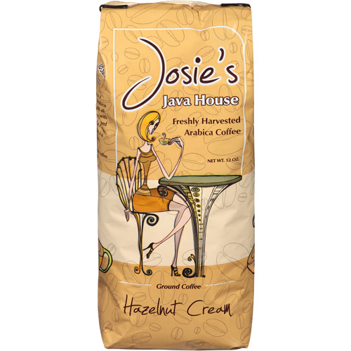 Josie's Java House Hazelnut Cream Ground Coffee, 12 oz