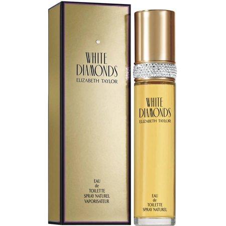 White Diamonds Eau de Toilette Spray, Perfume for Women, 3.4 Oz