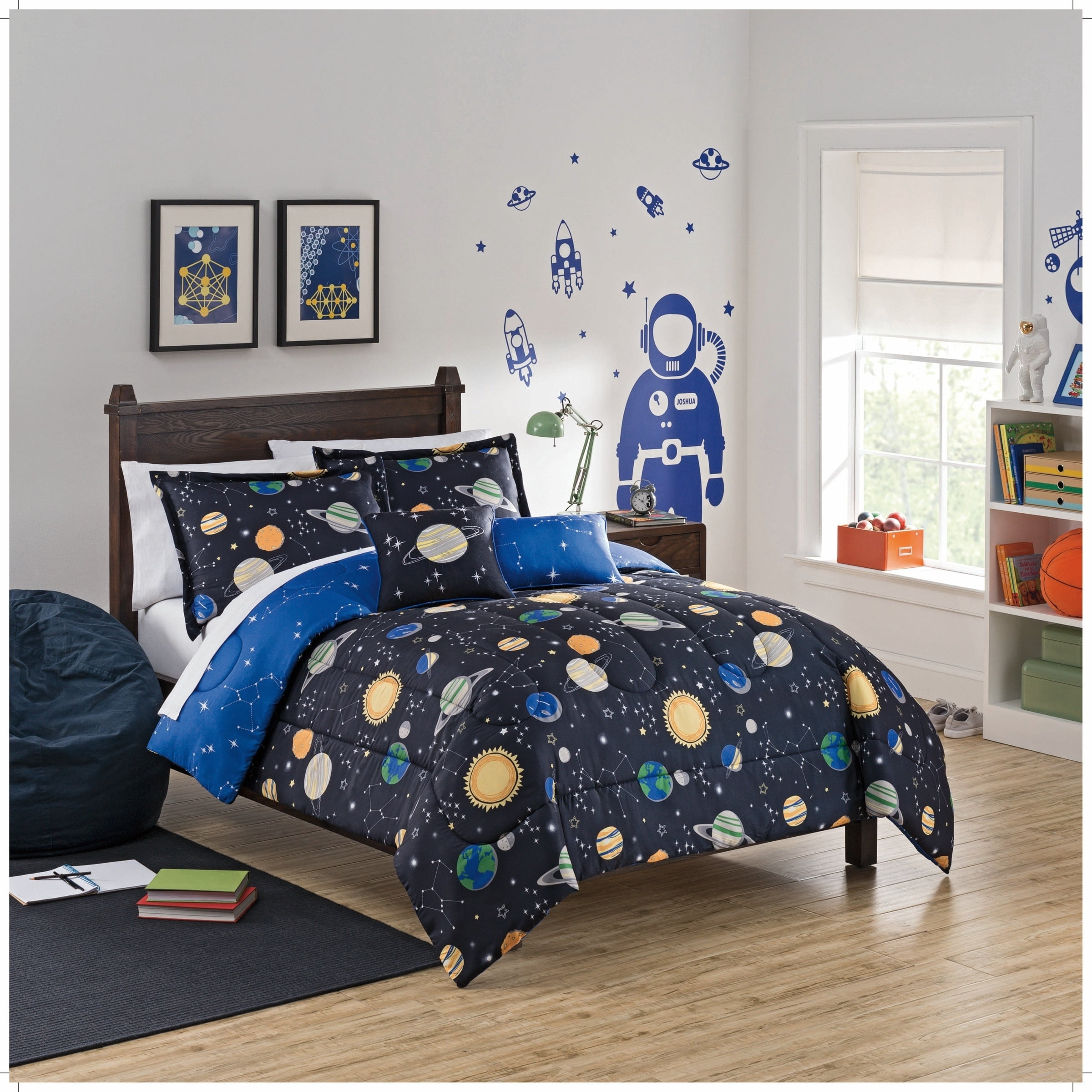 Waverly Kids Space Adventure Reversible Bedding Collection by Overstock