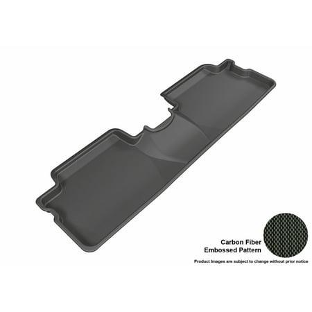 Scion Xb Suv (3D MAXpider 2013-2015 Scion xB Second Row All Weather Floor Liner in Black with Carbon Fiber)