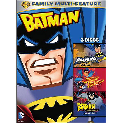 Batman: Batman: The Brave And The Bold - Volume 1 / The Batman Superman Movie / The Batman: Training For Power - Season 1 Vol. 1 (Widescreen)