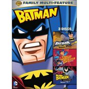Batman: Batman: The Brave And The Bold Volume 1   The Batman Superman Movie   The Batman: Training For Power Season 1... by WARNER HOME VIDEO