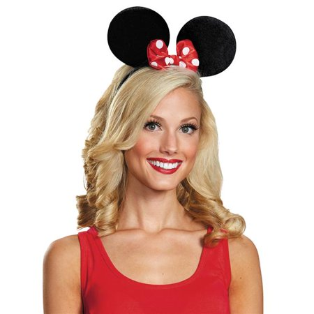 Morris Costumes DG95772 Minnie Mouse Ears Deluxe Exclusive Headband