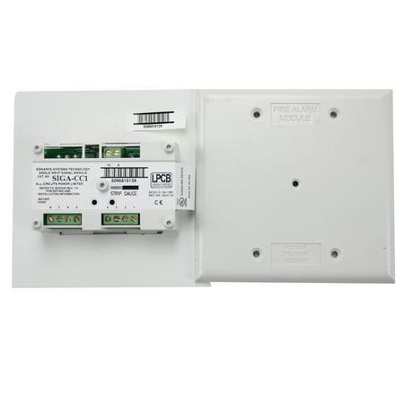 Est Edwards Siga Cc1 Fire Alarm Intelligent Analog Addressable Single Input Signal Module