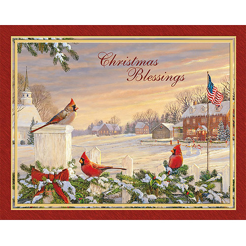 Lang Colors of Christmas Boxed Christmas Cards