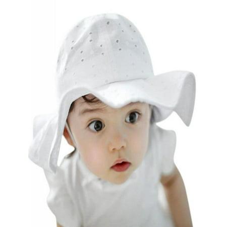 d1ed4548 OUMY - OUMY Baby Girl Sun Hat Outdoor Protected Cap 1-4Y - Walmart.com