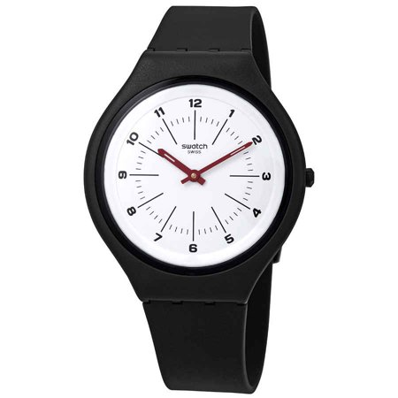 Swatch Skinwheel White Dial Ladies Watch SVUM104