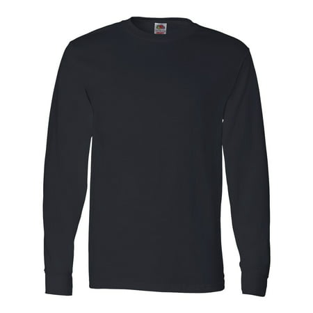 Fruit of the Loom HD Cotton Long Sleeve T-Shirt (Best Full Sleeve T Shirts Brands)