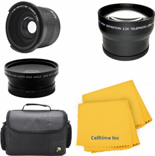 58MM Lens Set for CANON REBEL (T5i T4i T3i T2i T1i XT XTi...