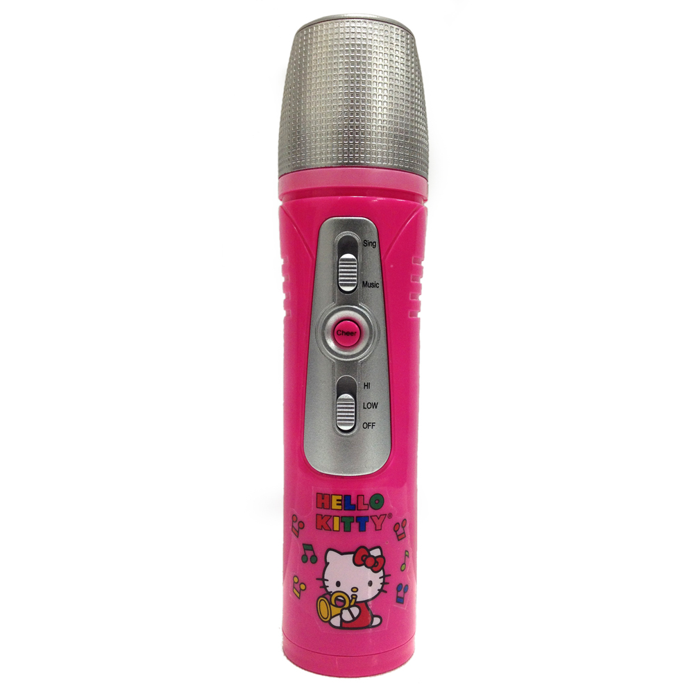 Hello Kitty MP3 Karaoke Wireless Microphone by