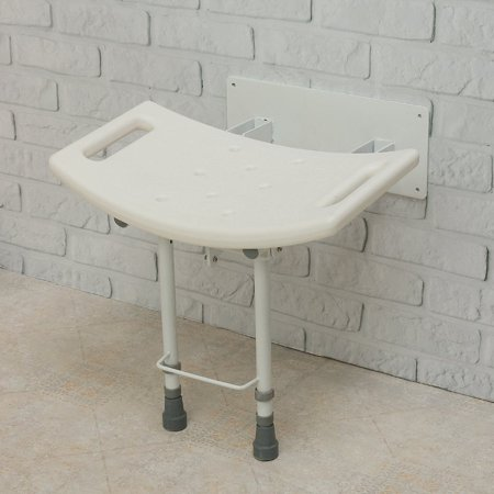 Strange Wall Mounted Folding Fold Away Shower Seat Bathroom Stool With Legs Grab Handles Ocoug Best Dining Table And Chair Ideas Images Ocougorg