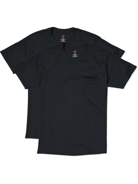 b459e809bcc1e Product Image Hanes Men s Short Sleeve Pocket Tee Value Pack (2-pack)