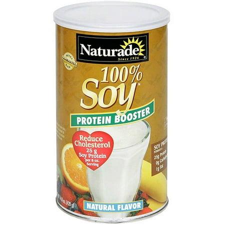 Naturade 100% de protéines de soja en poudre Booster, 14,8 oz