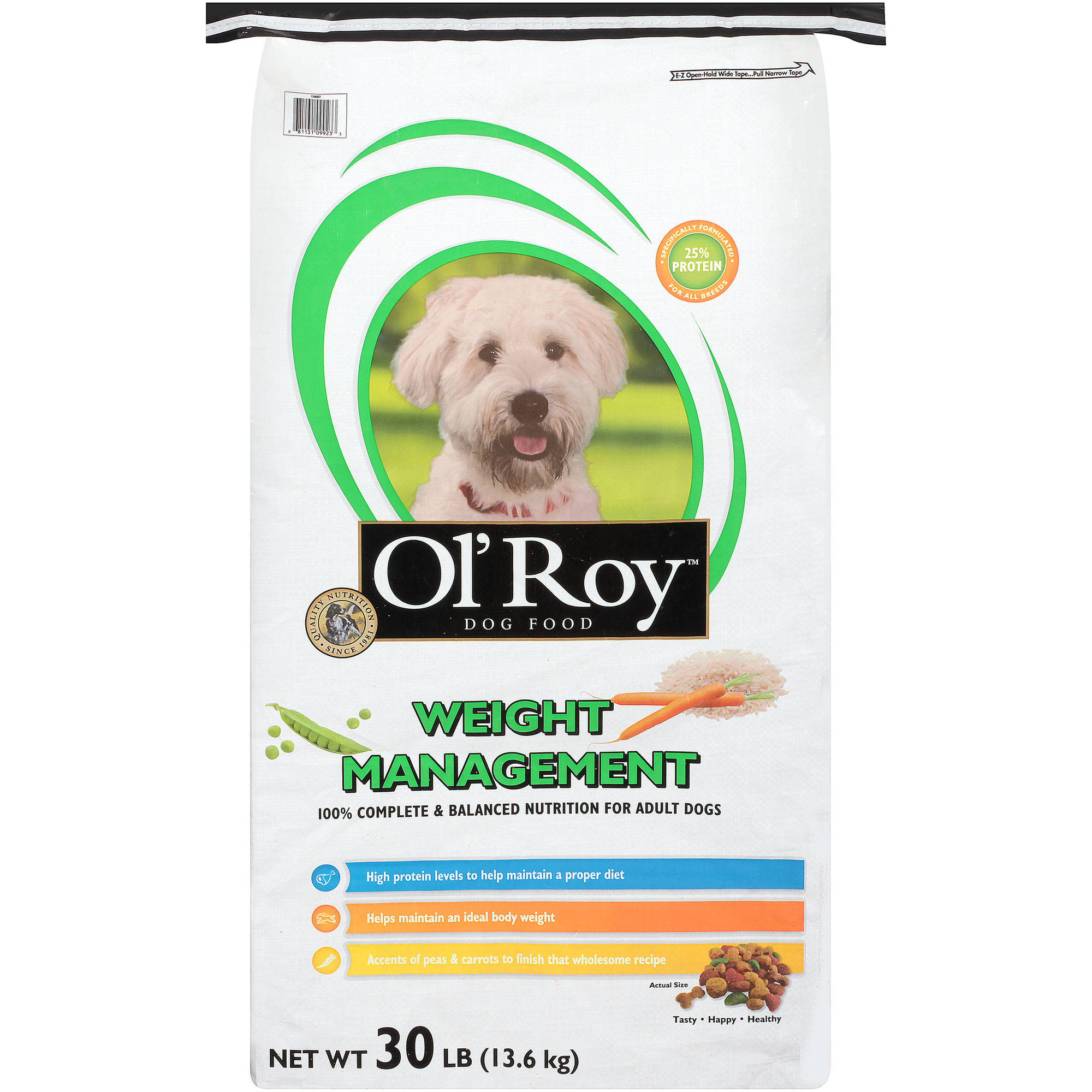 Ol\' Roy Weight Management Dry Dog Food, 30 Lb
