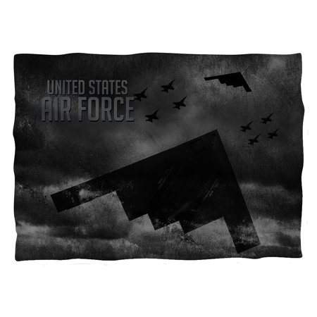 Air Force Stealth Pillow Case White One Size Fits