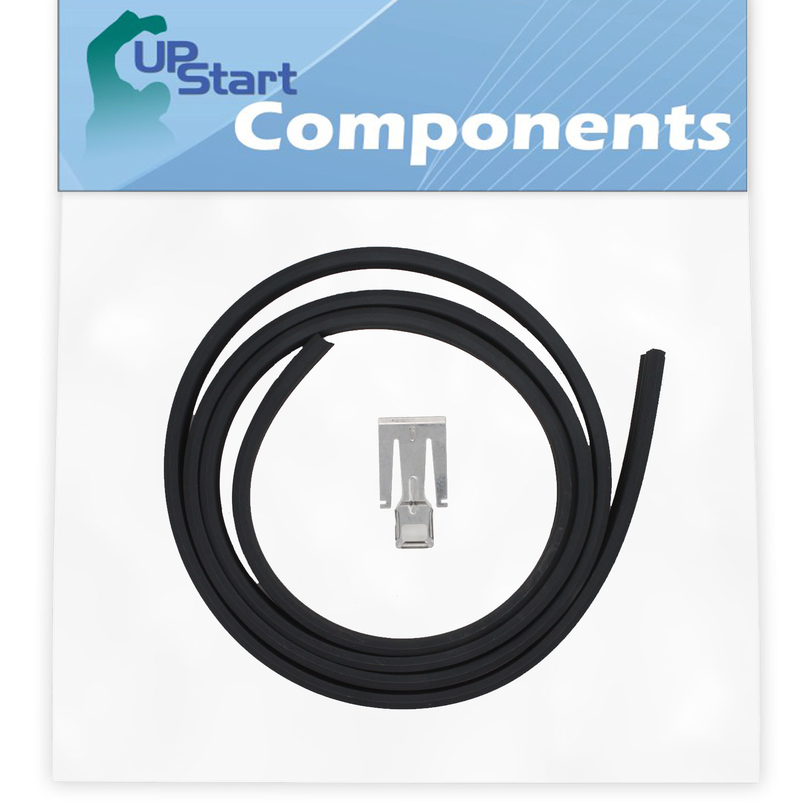 UpStart Components Brand Compatible with W10542314 Door Seal W10542314 Dishwasher Door Gasket Replacement for Whirlpool WDF530PLYB0 Dishwasher
