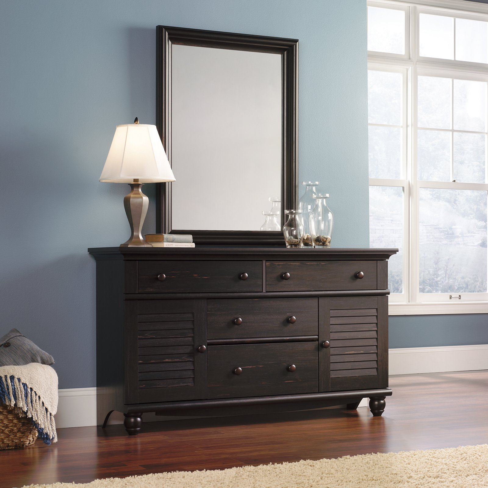 Harbor View 2-Door 4 Drawer Dresser with Optional Mirror