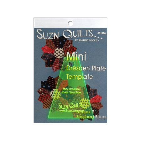 Suzn Quilts Template Mini Dresden ()